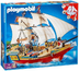playmobil pirate ship cabin working anchor