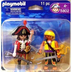 playmobil pirate captain monkey pieces