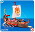 playmobil roman galley ship note item