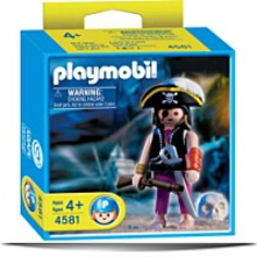 4581 Skull Pirate Captain
