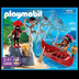 playmobil pirates dinghy