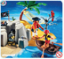 playmobil pirate island compact boat floats