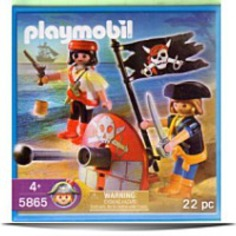 5865 Pirate Playset Pirates With Cannon