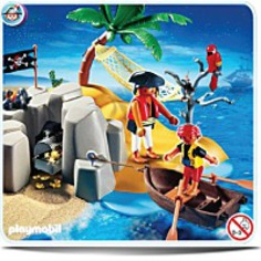 Pirate Island Compact Set Toy