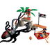 playmobil octopus attack help pirates defend