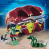 playmobil shell cannon snake opens closes