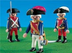 playmobil royal guard soldiers please note