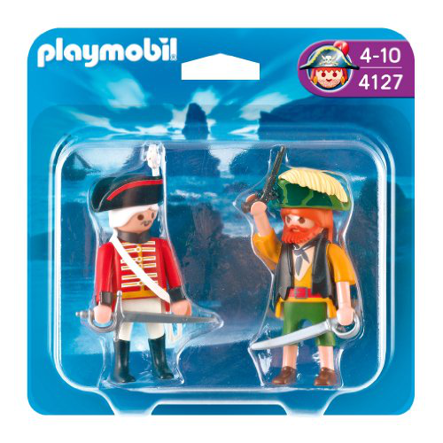 Pirate And Redcoat Soldier