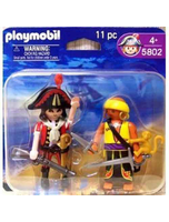 5802 Pirate Captain And Pirate With Monkey