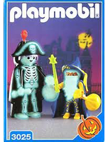 Playmobil 3025 Skeleton And Wizard Halloween